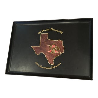 Vintage Houston Texas Brewery Tray