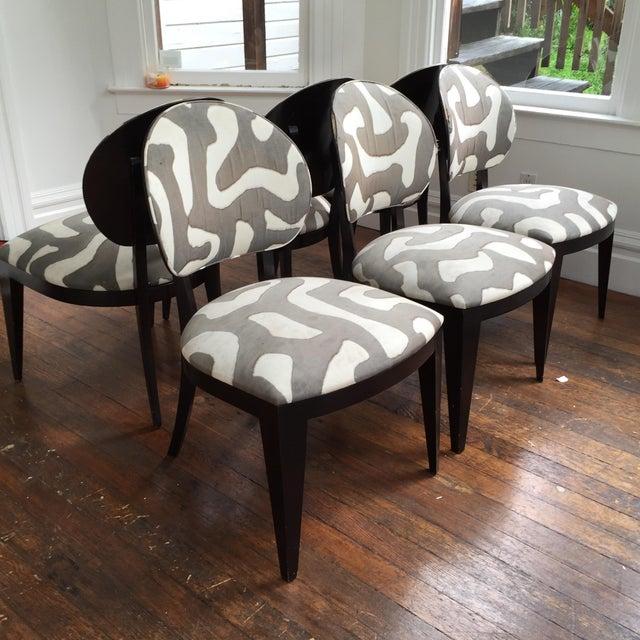 Berman Rosetti Jake Dining Chairs Set Of 6 Chairish
