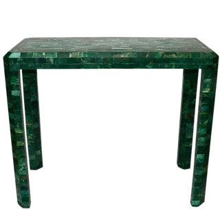 Malachite Stone Console by Maitland Smith