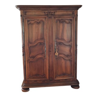 18th Century French Provincial Walnut Armoire
