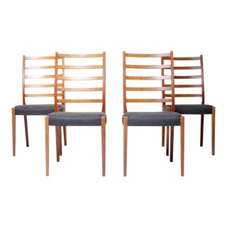 Svegards Markaryd Mid-Century Teak Dining Chairs - Set of 4