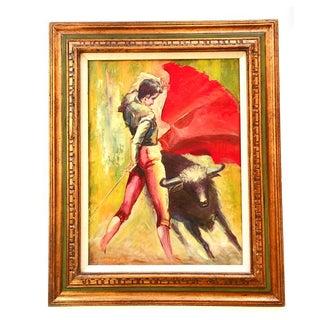 1970 Bullfight Painting