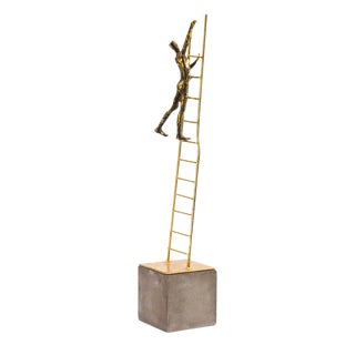 """Ladder to the Stars"" Metal Art Sculpture"
