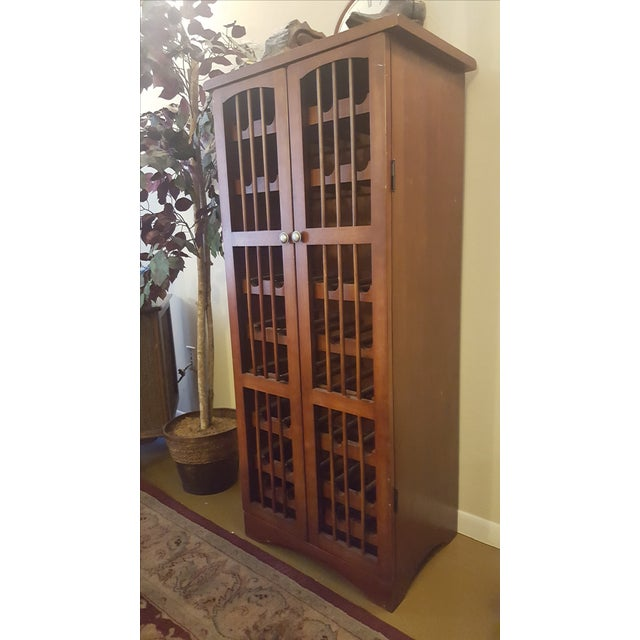 Pull-Out Wine Rack Cabinet - Image 2 of 5