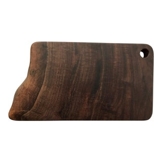 Live Edge Walnut Cutting Board