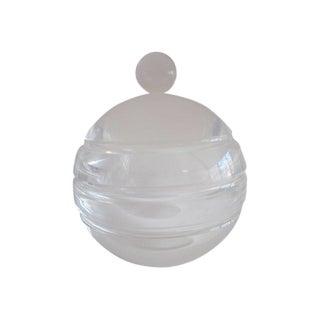 Modernist Mid Century Modern Lucite Ice Bucket
