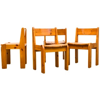 Ate Van Apeldoorn Style Dining Chairs - Set of 4