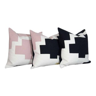 Architectural Italian Linen Throw Pillows by Arguello Casa