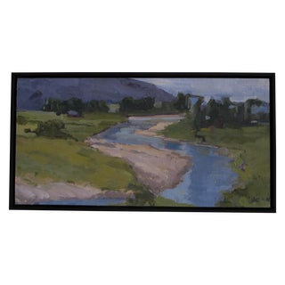Moran River Basin Painting