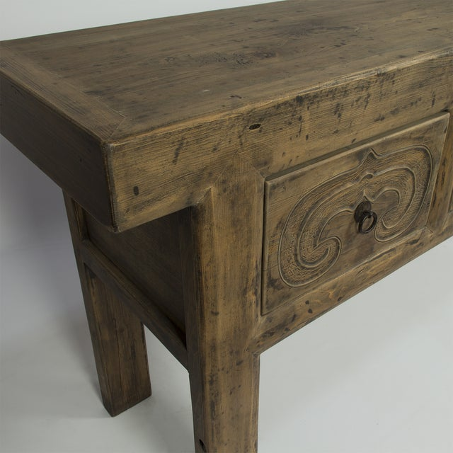 Rustic Altar Console Table - Image 3 of 3