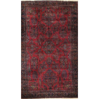 Pasargad Antique Persian Kashan Rug - 8′6″ × 13′10″