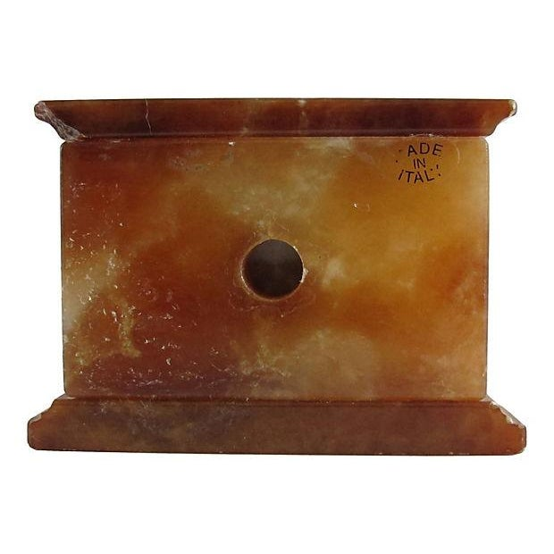 Italian Onyx Clock - Image 2 of 3