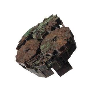 Copper Hand Block Batik Textile Printing Tool