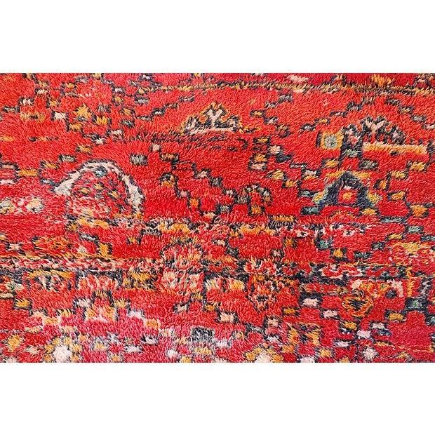 Vintage Moroccan Tribal Rug - 5′1″ × 8′2″ - Image 2 of 5