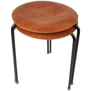 Tony Paul Mid-Century Stacking Tables - a Pair