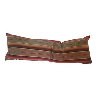 Boho Chic Serape Pillow