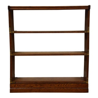 Oak Stackable & Foldable Bookcase