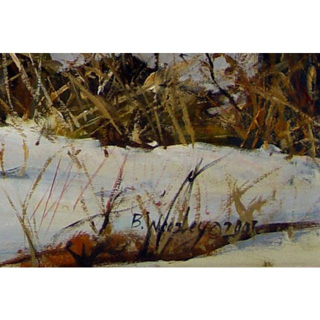 Image of Brigitte Woosley Cougar Painting