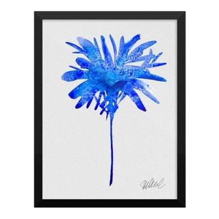 Framed Blue Botanical Print