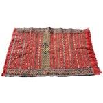 "Image of Red Moroccan Tribal Kilim Rug - 2'7"" X 4'"
