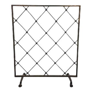 Jean Royère Style Iron Screen or Room Divider