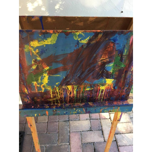 Maine Elementary School Art Easel - Image 5 of 9