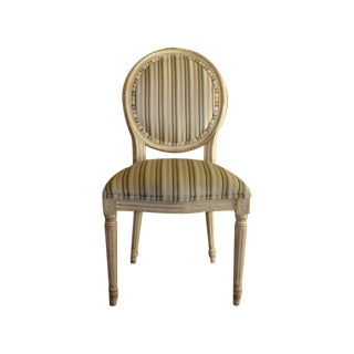 Oval Back Louis XVI Style Side Chair