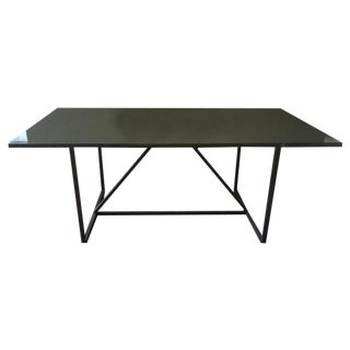 Vintage used gray dining tables chairish for Ligne roset yoyo