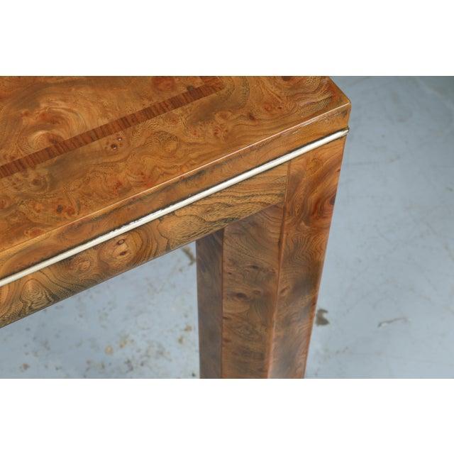 Image of Master Burlwood Dining Table