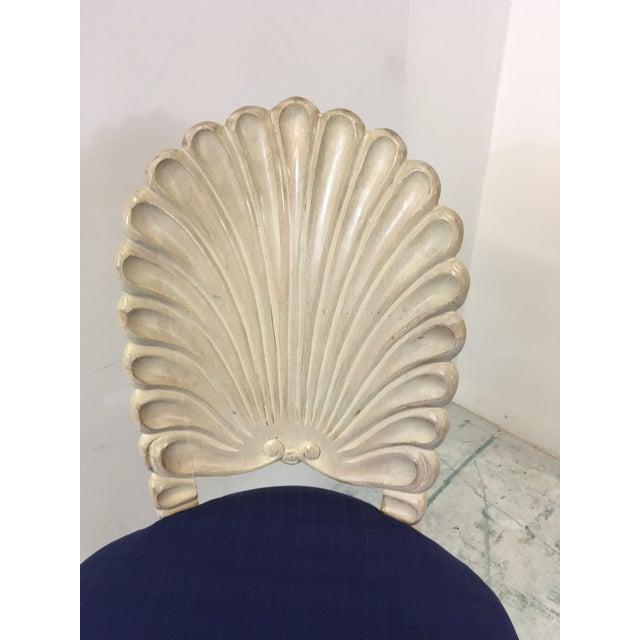 Set of 4 Shell Back Swivel Barstools - Image 7 of 9