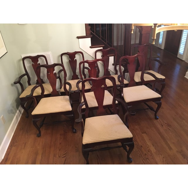 Fiddle Back Dining Chairs - Set of 8 - Image 10 of 10