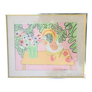 Henri Matisse Pineapple & Anemones Print, 1940