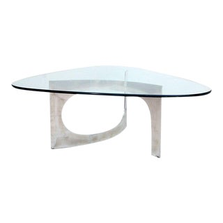 Sculptural Aluminum Coffee Table