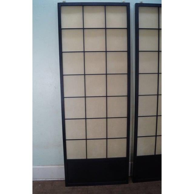 Vintage Japanese Shoji Sliding Doors - A Pair - Image 5 of 10