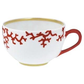 Raynaud Cristobal Coral Teacups - Set of 8