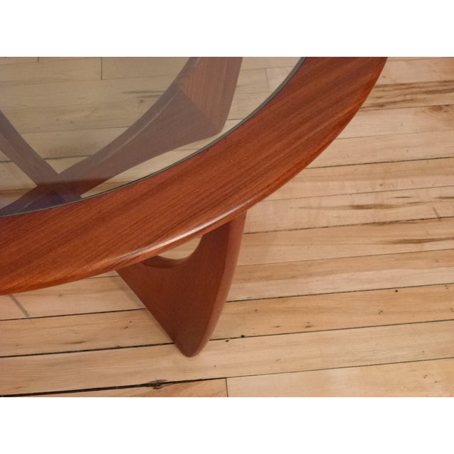 G-Plan Round Astro Glass Coffee Table - Image 3 of 5