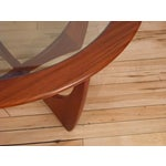Image of G-Plan Round Astro Glass Coffee Table
