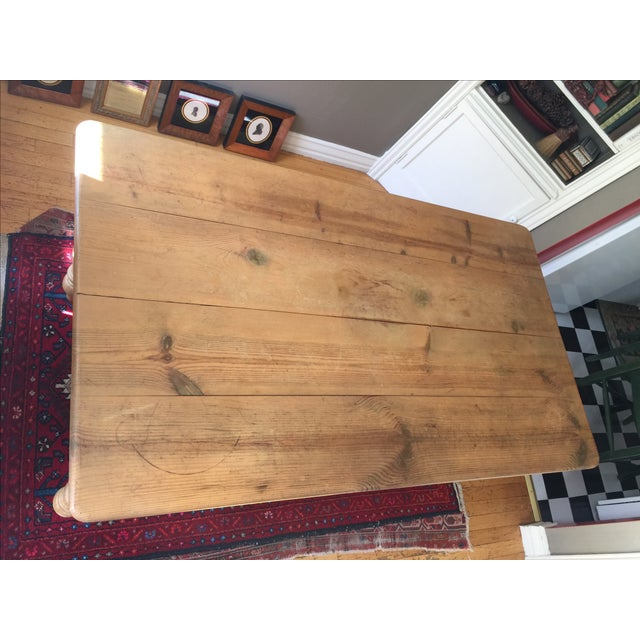 Pottery Barn Dining Table - Image 5 of 10