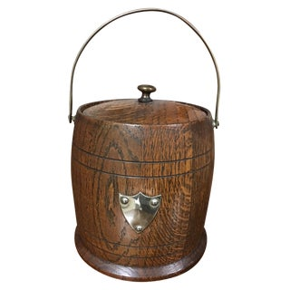 Antique English Biscuit Barrel
