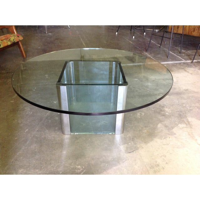 Leon Rosen For Pace Vintage Chrome Coffee Table Chairish