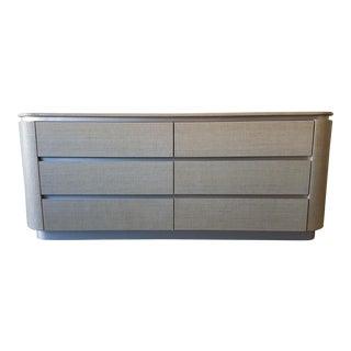 Harrison Van Horn Raffia Clad Dresser