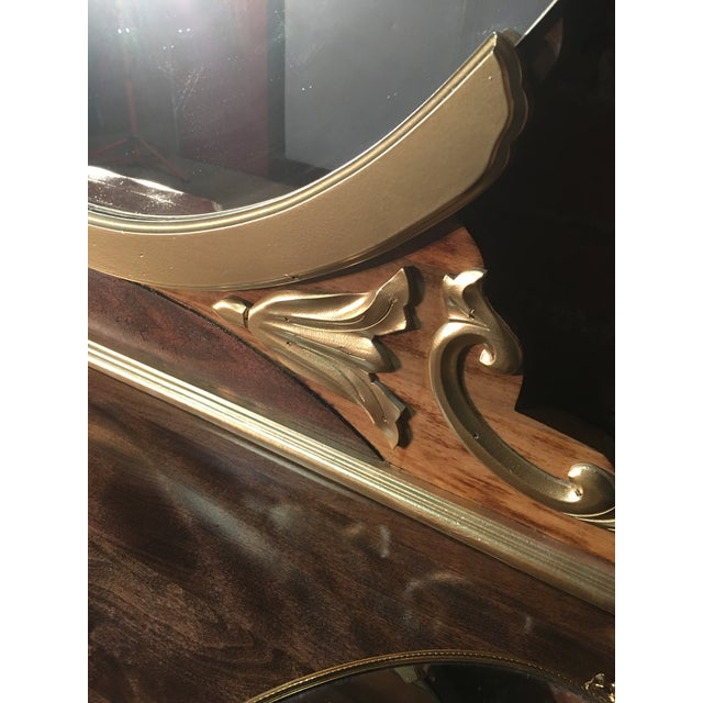 1920s Art Deco Vanity Table with Seat - Image 8 of 10