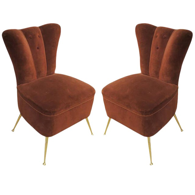 Pair of Slipper Chairs - Image 1 of 4