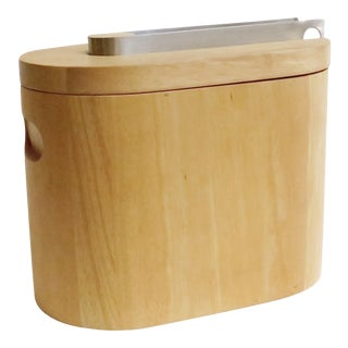 Modern Wooden Ice Bucket