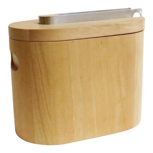 Modern Wooden Ice Bucket - Image 1 of 5
