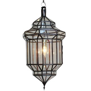 Moroccan Style Clear Prism Lantern