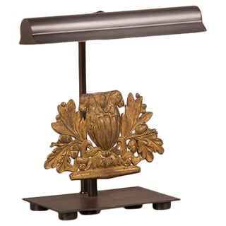 Elaborate Gilded Brass Ornament, France c.1850, Mounted as a Custom Lamp