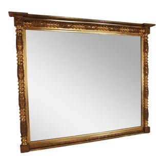 19th Century American Federal Gilt Mirror