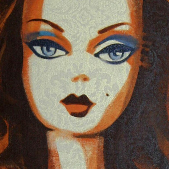 """Debbie Curtis """"Vision in Color"""" Painting - Image 2 of 2"""