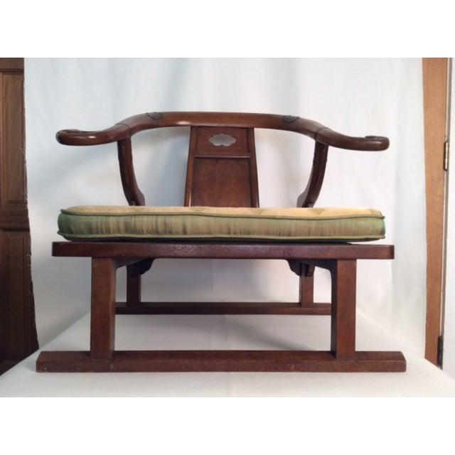 Hardwood Chinese Chairs - Pair - Image 3 of 7